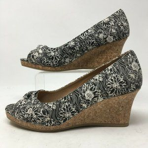 Dexflex Comfort Womens Sandals Cork Wedge Heels  P